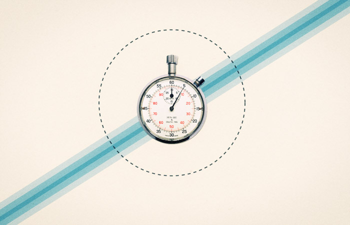 Illustration: stopwatch countdown