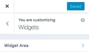 widgetarea