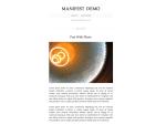 The Manifest theme
